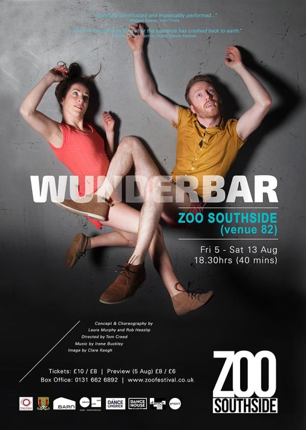 Wunderbar Fringe Poster A3 2